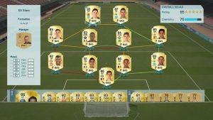 FIFA 16 FUT Mannschaft Feld