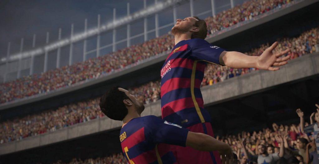 FIFA 16 Jubel
