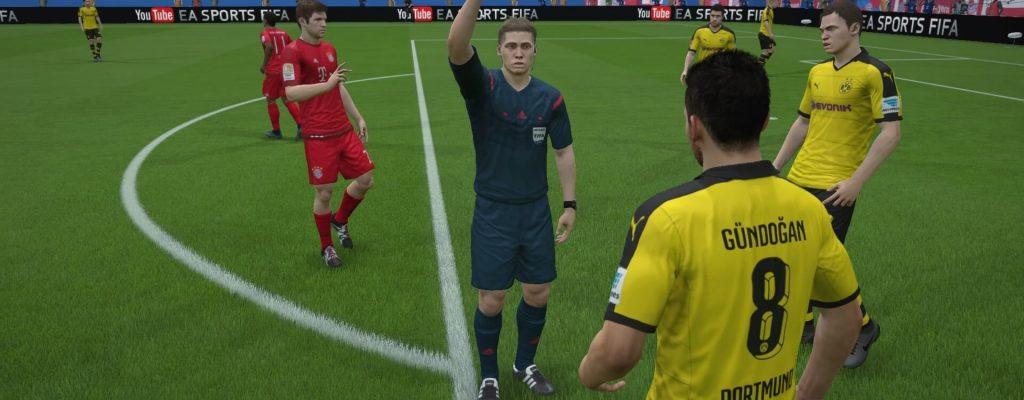 FIFA 16: Pleiten, Pech und Schiris – Schiedsrichter-Fails im Video