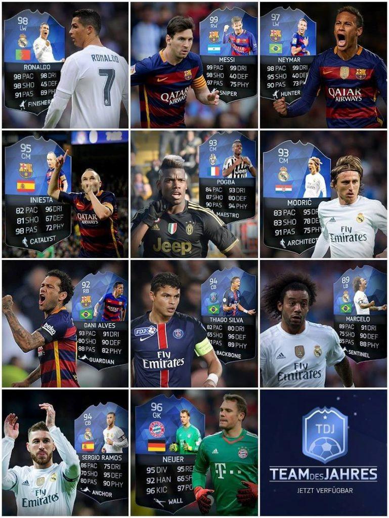 Fifa-Team-des-Jahres