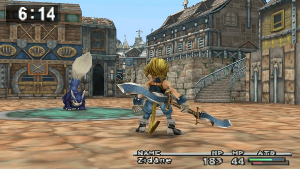 Final Fantasy IX Combat