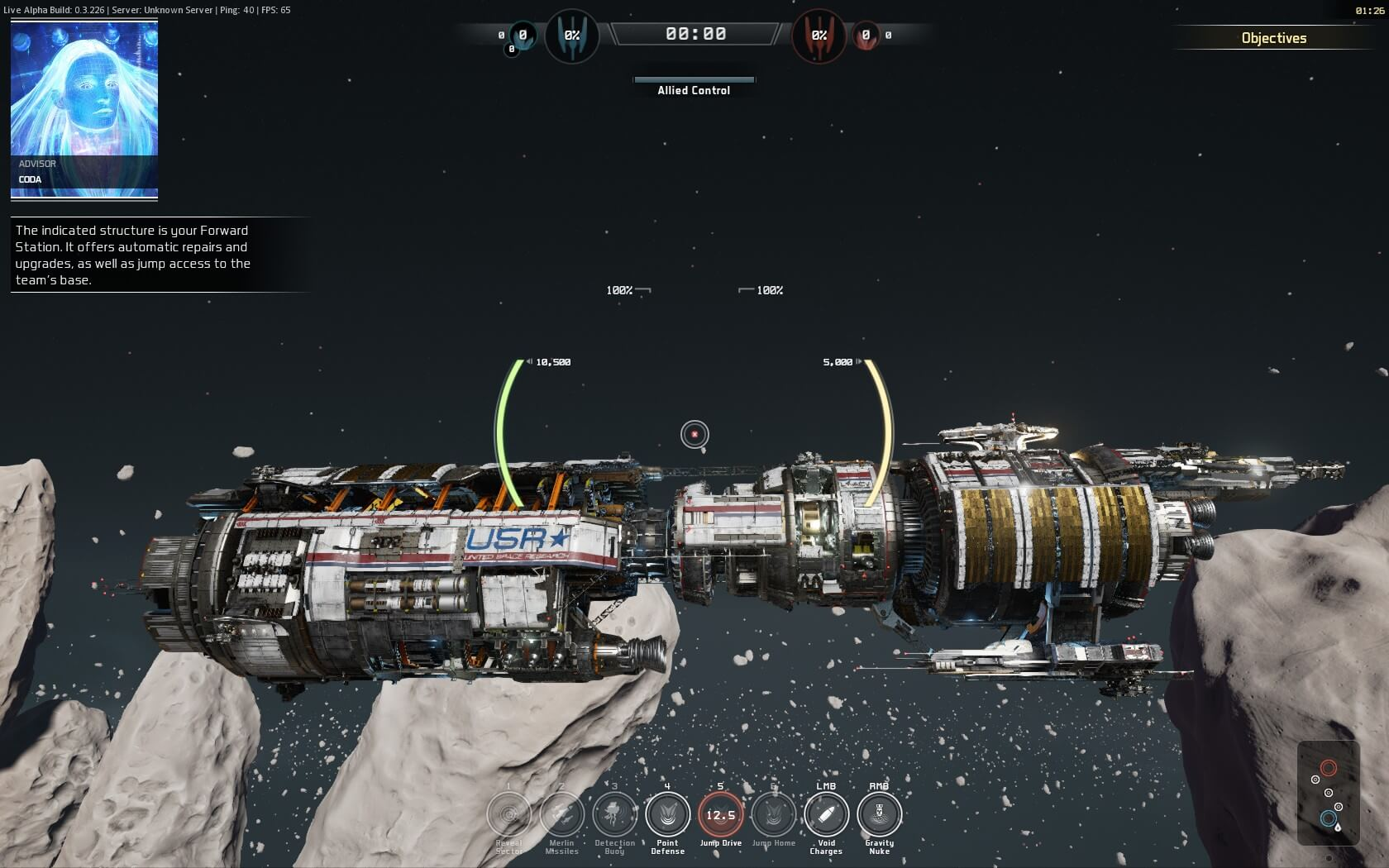 Fractured Space Screenshot 1