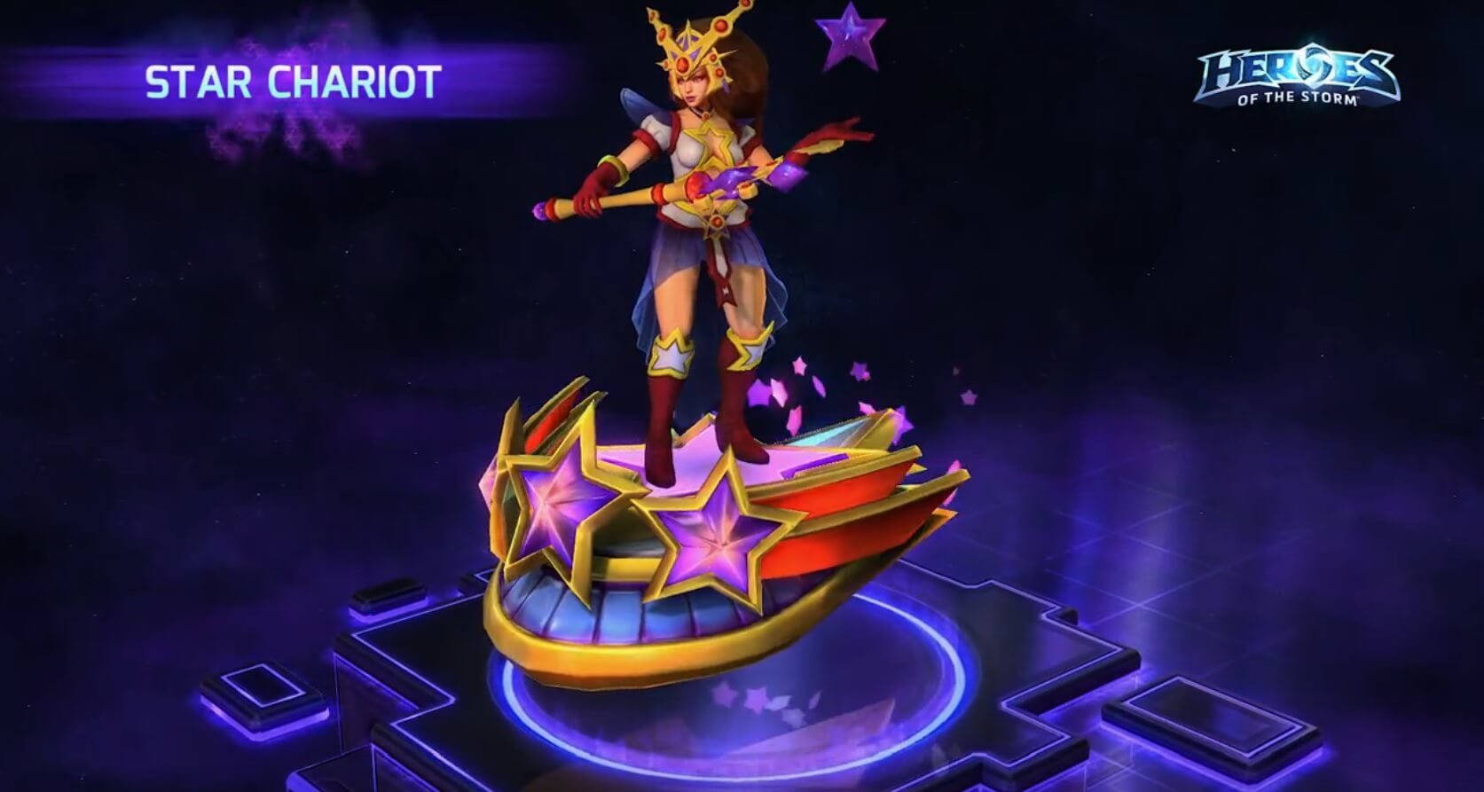 Hots Star Chariot Mount