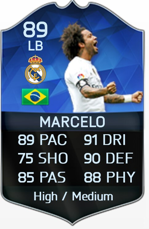 Marcelo FIFA 16 TOTY