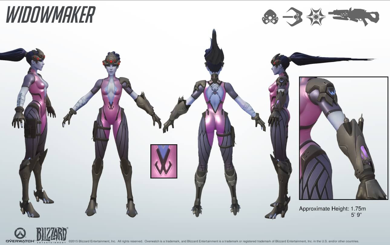 Overwatch Widowmaker Kit 1