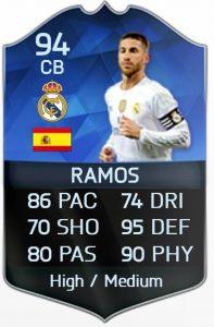 Sergio Ramos FIFA 16 TOTY
