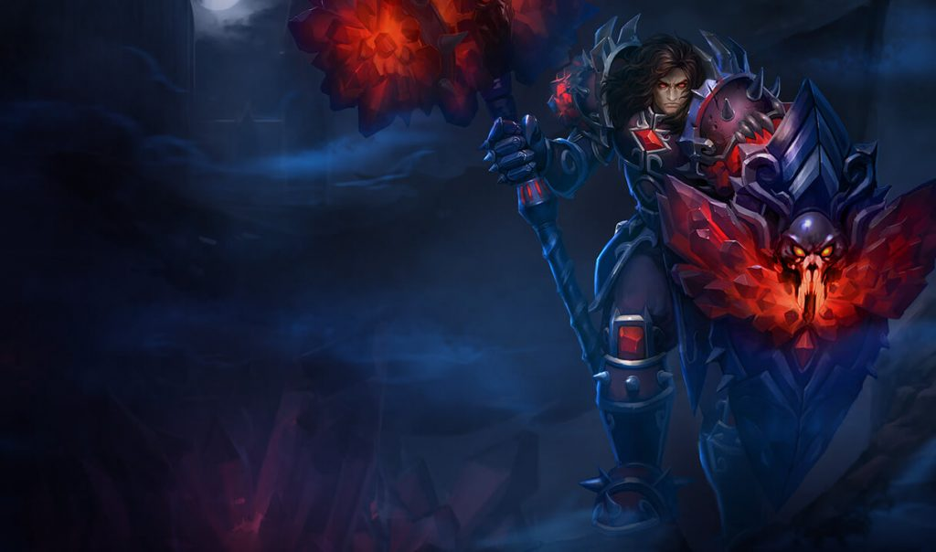 LoL Taric Bloodstone Wallpaper