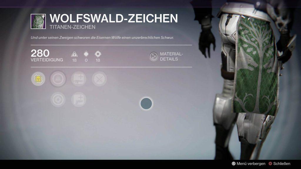 Titan-Zeichen