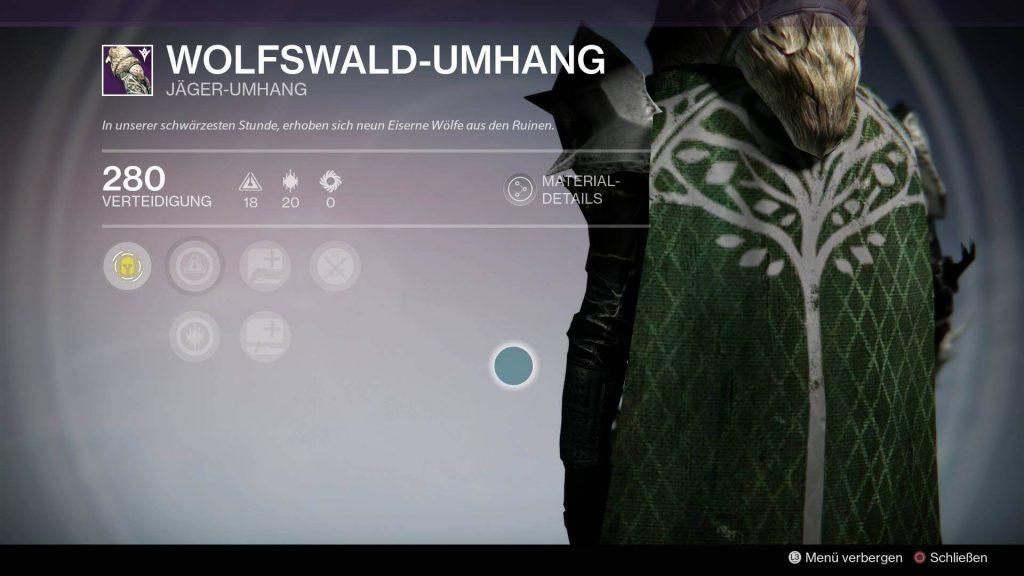 Wolfswald-Umhang