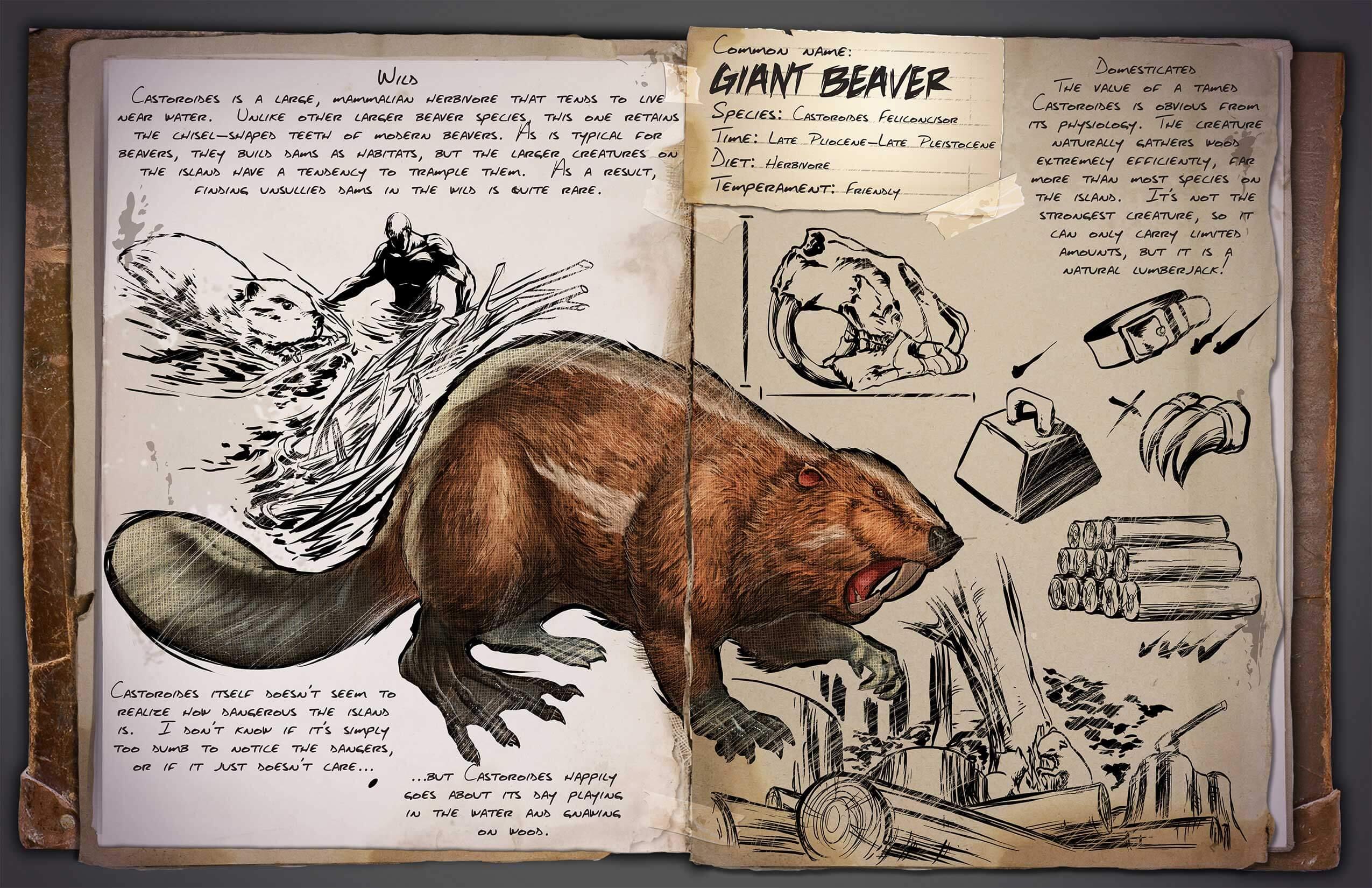 Ark Beaver Lorepage