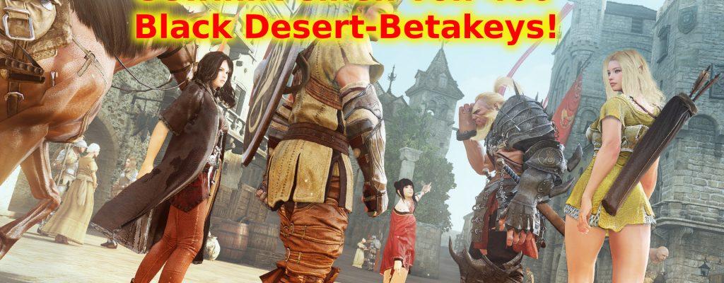 Black Desert: Gewinnt einen von 400 Betakeys!