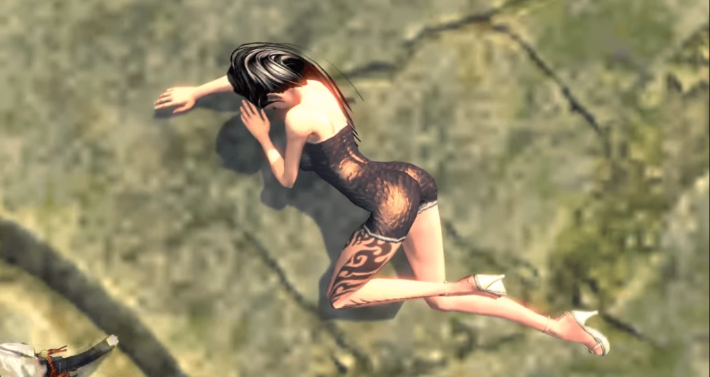 Blade and Soul Censorship naked women magically dressed