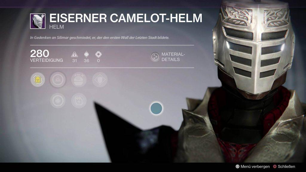 Camelot-Helm