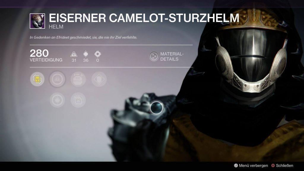 Camelot-Sturzhelm