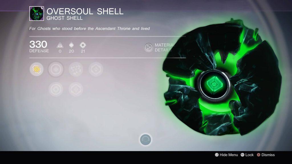Destiny-Oversoul