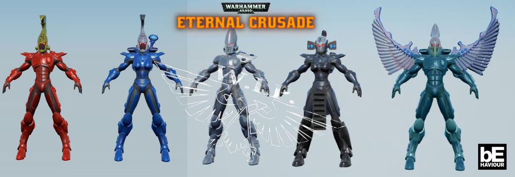Eternal Crusade Eldar Model
