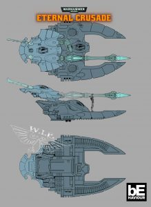 Eternal Crusade Eldar Ship