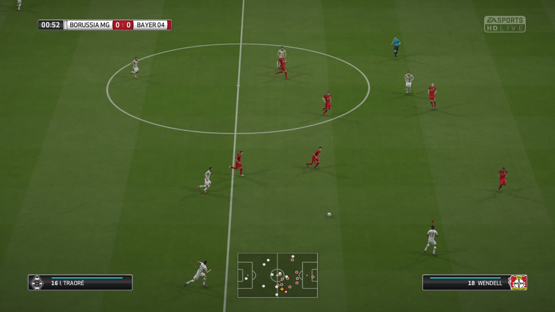 FIFA 16 In Game