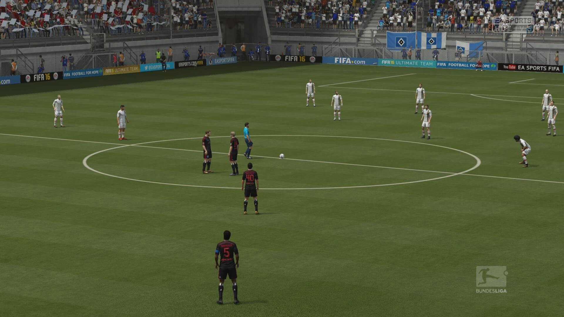 FIFA 16 Anstoß