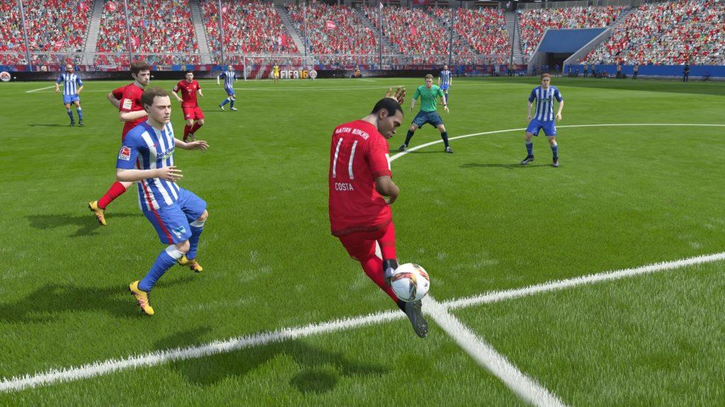 FIFA 16 Costa Trick