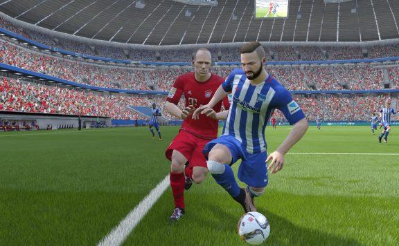 FIFA 16 Robben Zweikampf
