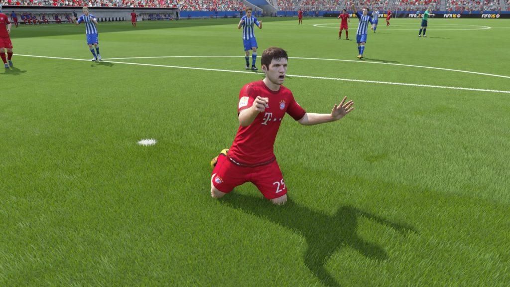 FIFA 16 Müller Ärger