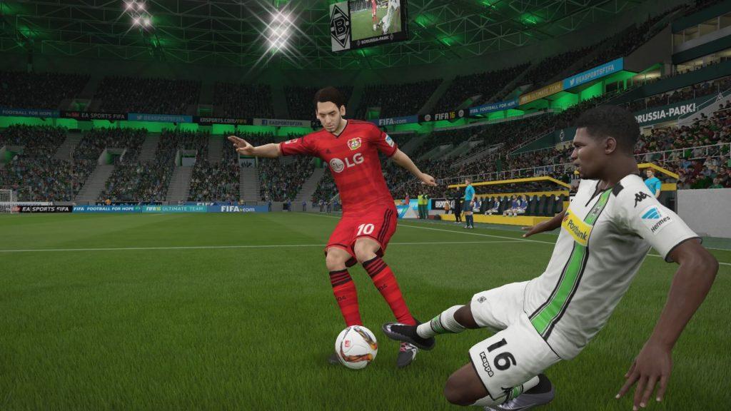 FIFA 16 Grätsche