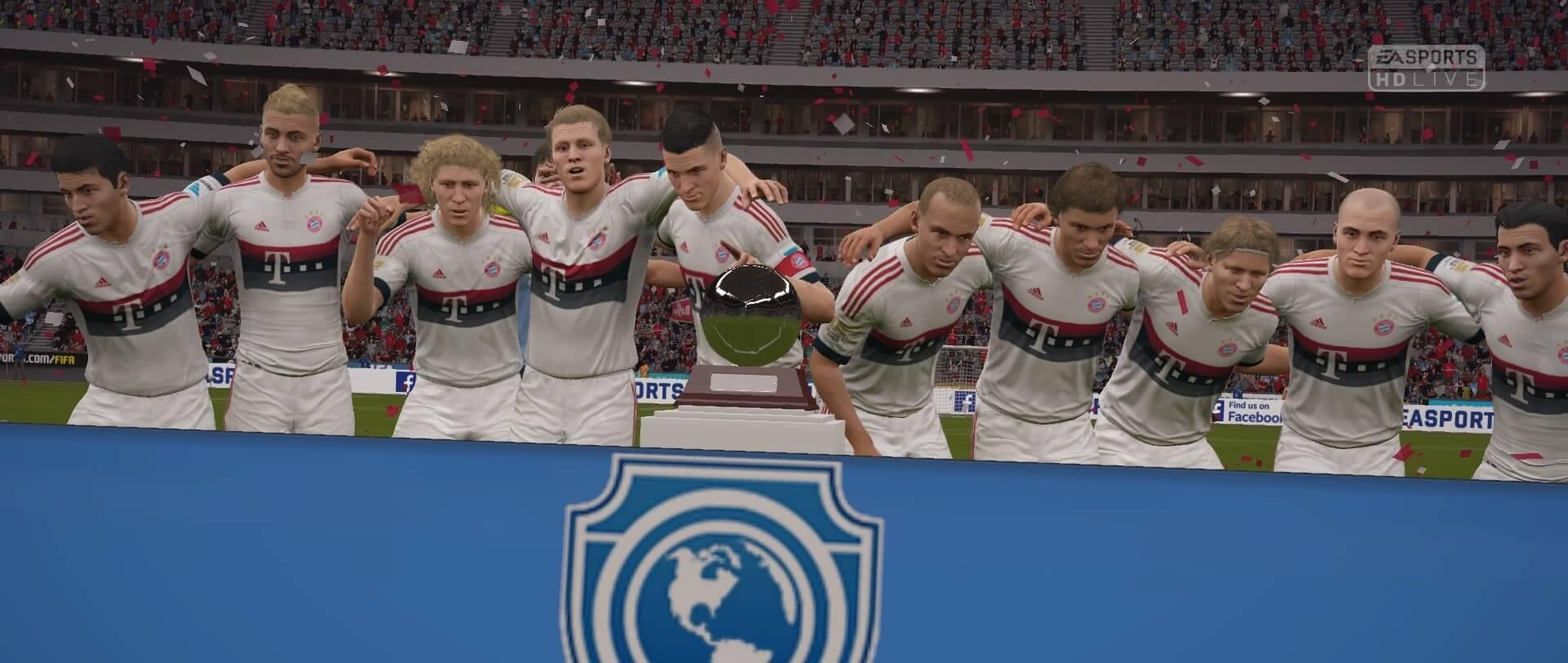 FIFA 16 Pro Clubs Jubel