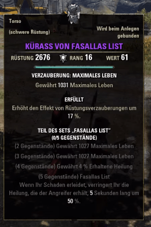 Fasallas-List