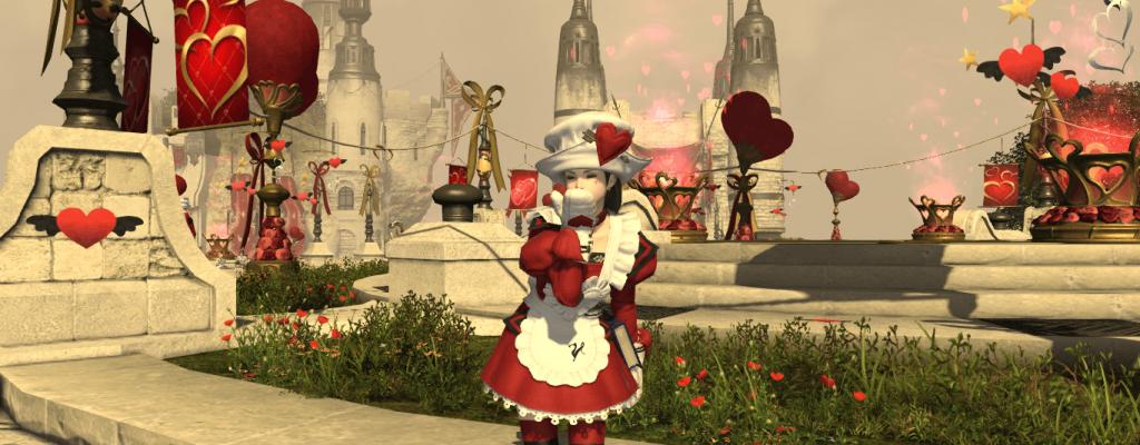 Final Fantasy XIV: Valentiontag bringt liebliche Kleidung