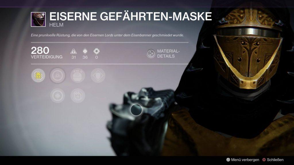 Gefaehrten-Maske