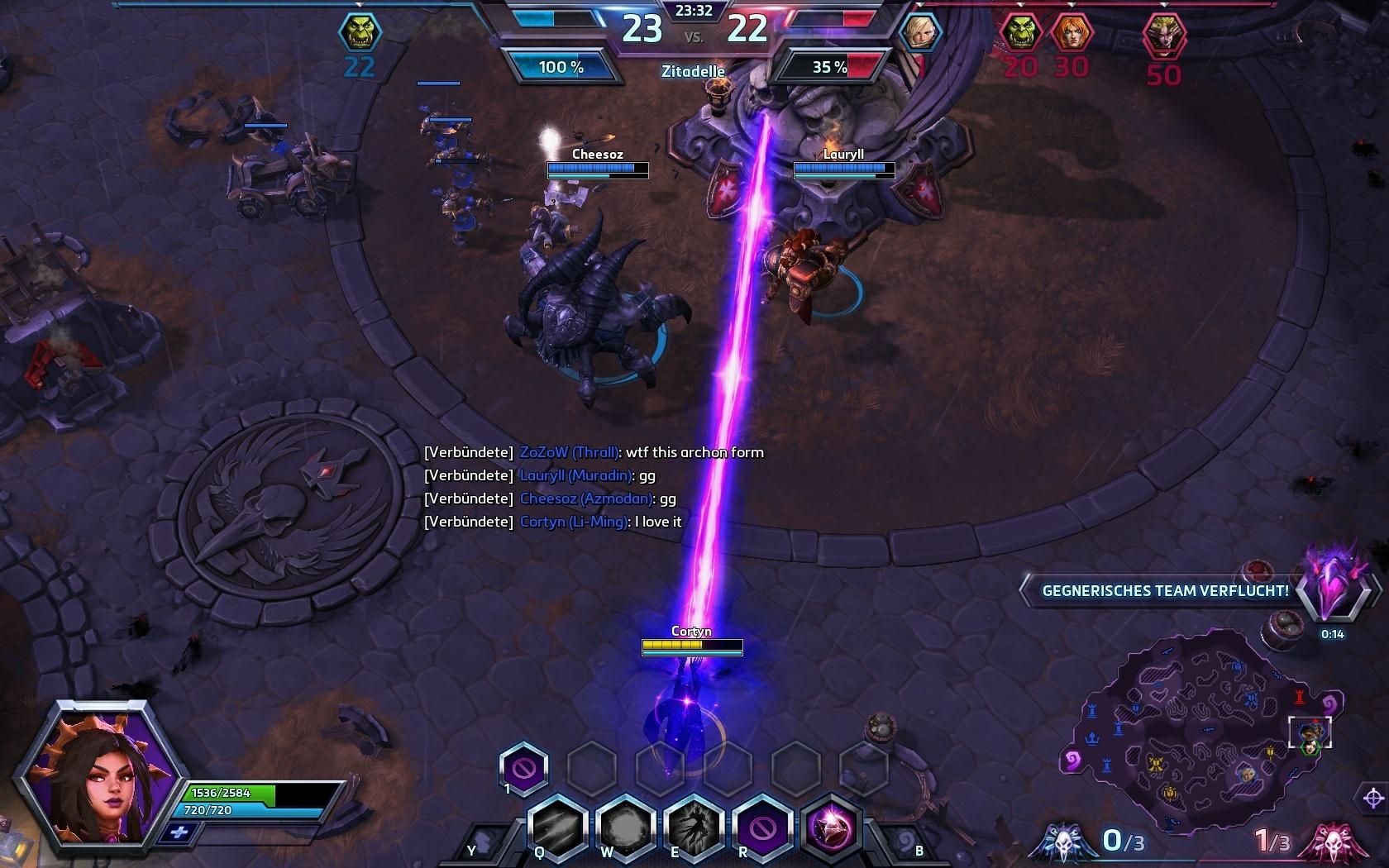 Hots Li Ming Archon Core Laser