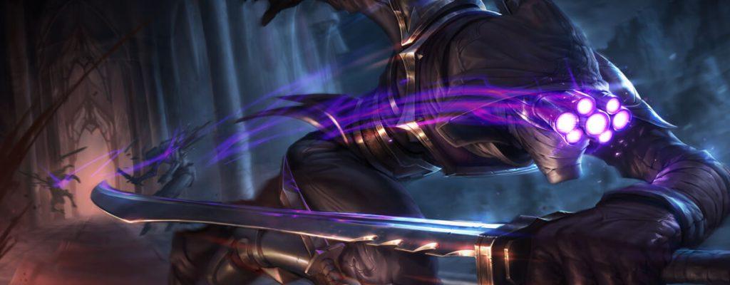 League of Legends: Das Schwert von Master Yi richtet auch in der echten Welt verheerenden Schaden an