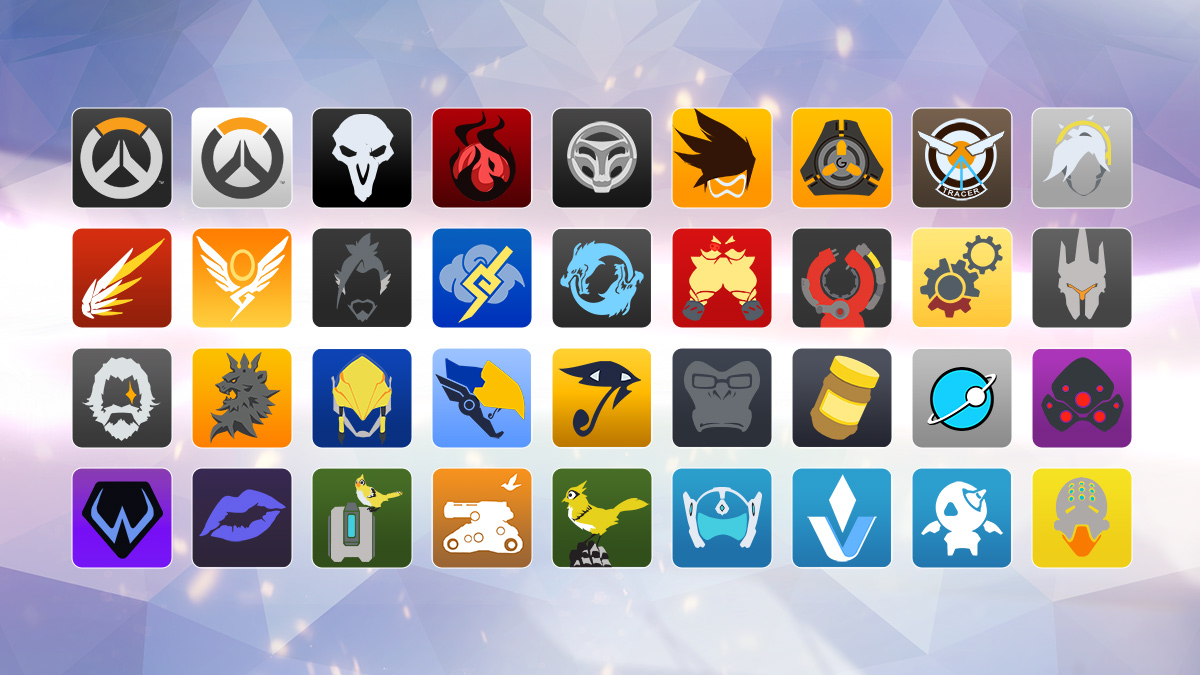 Overwatch Player Icons
