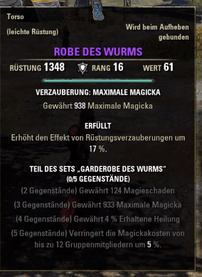 Robe-Wurm