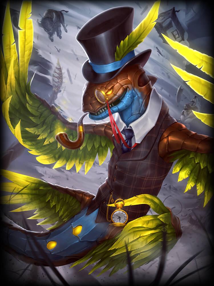 Smite Kukulkan Gentleman Card