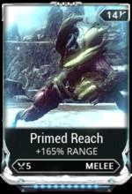 Warframe Primed Reach