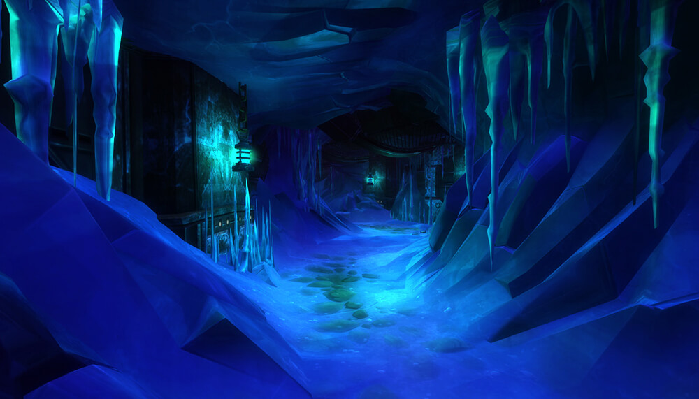 WildStar Arkterra Icy caverns