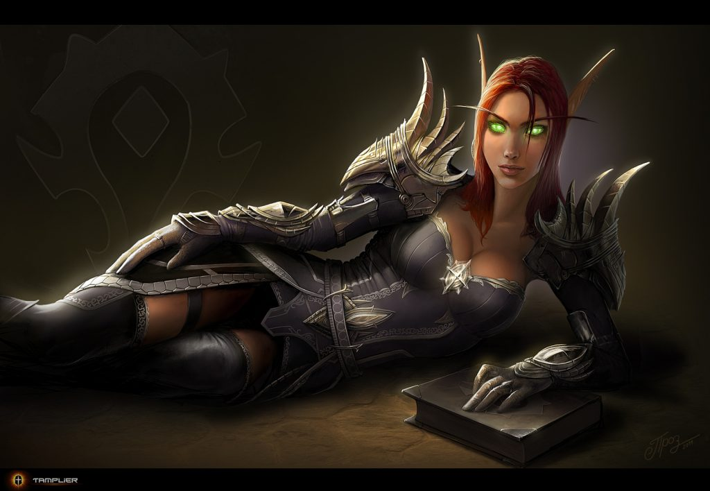 WoW Fanart Blood Elf Tamplier