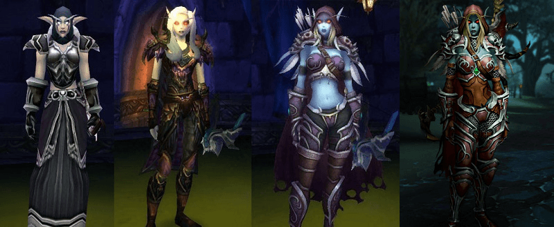WoW Sylvanas Time Model