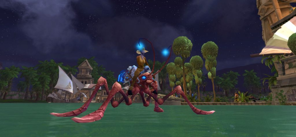 WoW Water Strider Mount