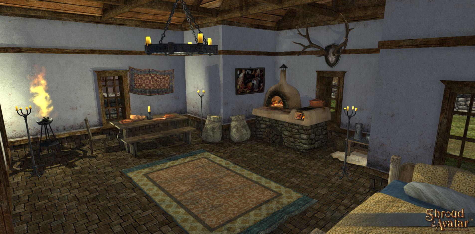 shroud of the Avatar Home interior