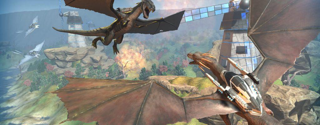 Time of Dragons bietet Drachen, Raketen und Laser – Neuer Free2Play Online-Shooter auf Steam