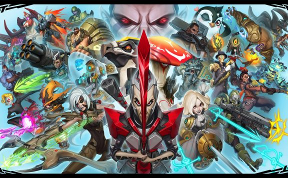 Battleborn Start Screen