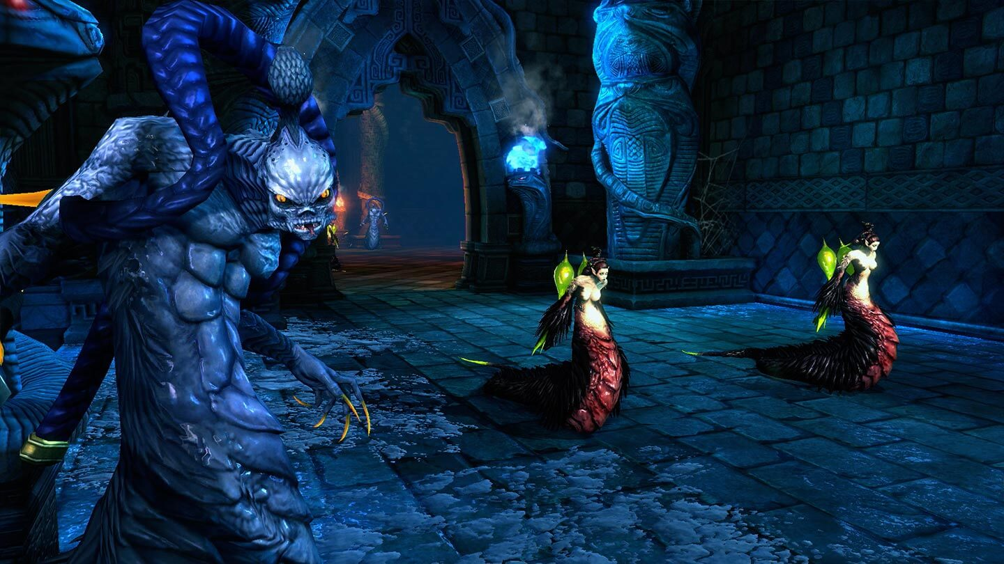 Blade and Soul Frozen Fang Lair
