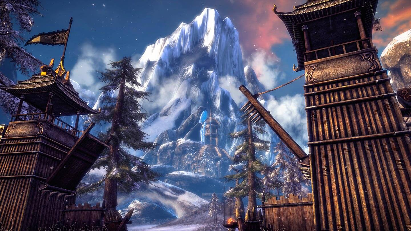 Blade and Soul Silberfrost Mountainside
