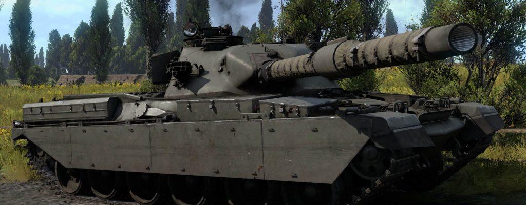 War Thunder: Wettrüsten – Battlemarch bringt Chieftain Mk.3, zwei neue Karten, vieles mehr
