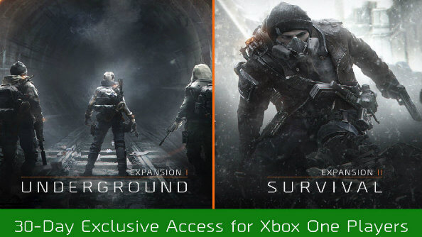 The Division:  Xbox One hat 2 DLCs 30 Tage exklusiv