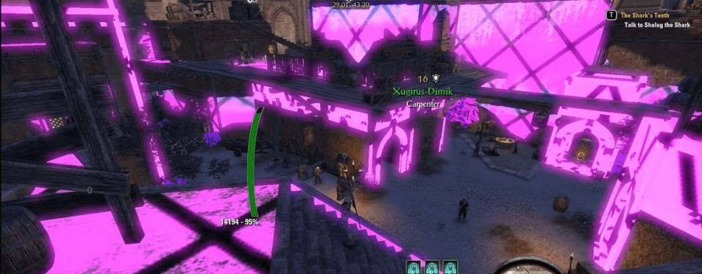The Elder Scrolls Online ist irgendwie pink