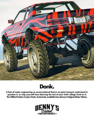GTA Monstertruck Benny's